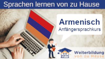 Armenisch Anfängersprachkurs lernen von zu Hause Header