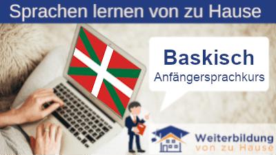 Baskisch Anfängersprachkurs lernen von zu Hause Header