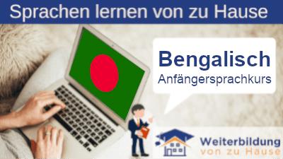 Bengalisch Anfängersprachkurs lernen von zu Hause Header
