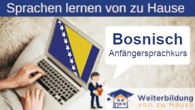 Bosnisch Anfängersprachkurs lernen von zu Hause Header