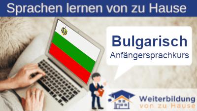 Bulgarisch Anfängersprachkurs lernen von zu Hause Header
