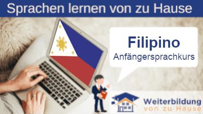 Filipino Anfängersprachkurs lernen von zu Hause Header