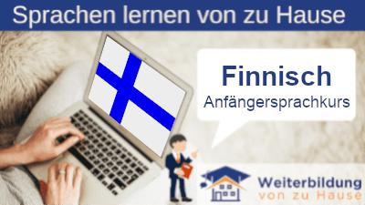 Finnisch Anfängersprachkurs lernen von zu Hause Header