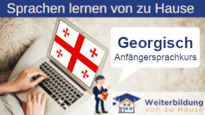 Georgisch Anfängersprachkurs lernen von zu Hause Header