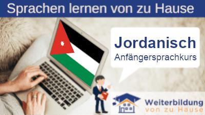 Jordanisch Anfängersprachkurs lernen von zu Hause Header