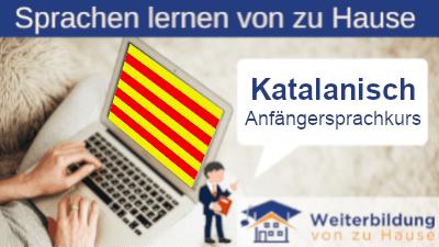 Katalanisch Anfängersprachkurs lernen von zu Hause Header