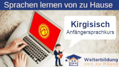 Kirgisisch Anfängersprachkurs lernen von zu Hause Header