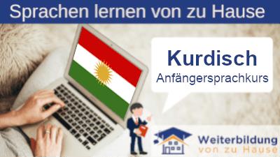 Kurdisch Anfängersprachkurs lernen von zu Hause Header