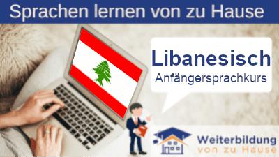 Libanesisch Anfängersprachkurs lernen von zu Hause Header