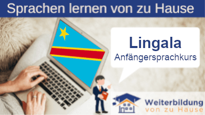 Lingala Anfängersprachkurs lernen von zu Hause Header