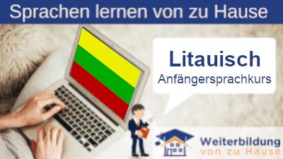 Litauisch Anfängersprachkurs lernen von zu Hause Header
