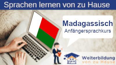 Madagassisch Anfängersprachkurs lernen von zu Hause Header