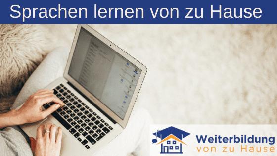 Sprachen lernen von zu Hause Header