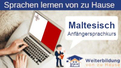 Maltesisch Anfängersprachkurs lernen von zu Hause Header