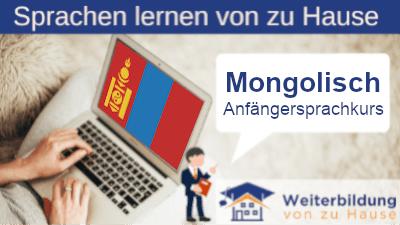 Mongolisch Anfängersprachkurs lernen von zu Hause Header