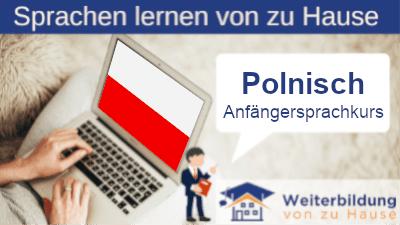 Polnisch Anfängersprachkurs lernen von zu Hause Header
