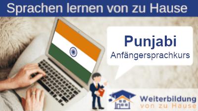 Punjabi Anfängersprachkurs lernen von zu Hause Header