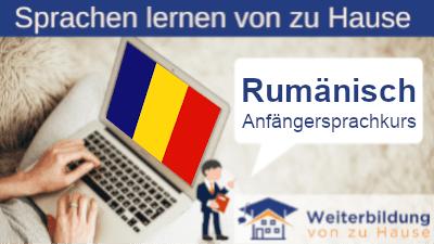 Rumänisch Anfängersprachkurs lernen von zu Hause Header