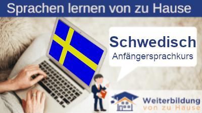 Schwedisch Anfängersprachkurs lernen von zu Hause Header