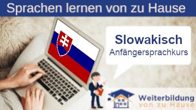 Slowakisch Anfängersprachkurs lernen von zu Hause Header