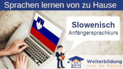 Slowenisch Anfängersprachkurs lernen von zu Hause Header