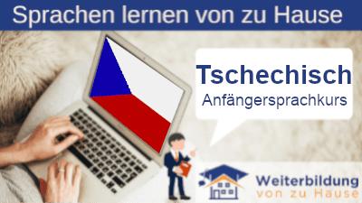 Tschechisch Anfängersprachkurs lernen von zu Hause Header