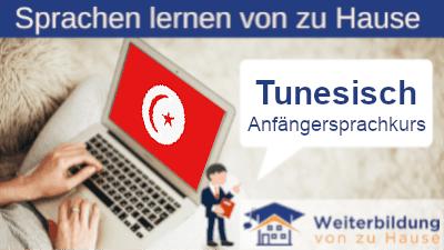 Tunesisch Anfängersprachkurs lernen von zu Hause Header