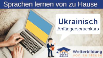 Ukrainisch Anfängersprachkurs lernen von zu Hause Header