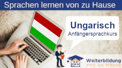 Ungarisch Anfängersprachkurs lernen von zu Hause Header