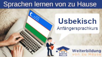 Usbekisch Anfängersprachkurs lernen von zu Hause Header